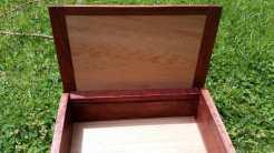 Reclaimed Redgum box