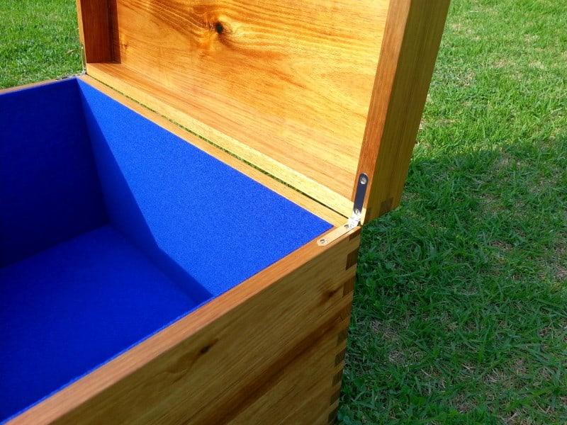 Hardwood Urn-Ashes-Box