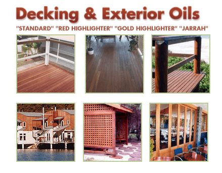 organoil deck examples