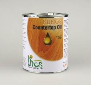a can of livos countertop oil environmentally friendly plant oil finish