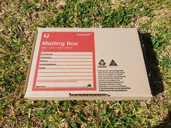 environmentally friendly packaging, cedar shavings soap holder pack cardboard mailing box closed