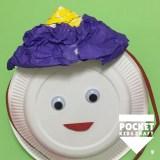 節分製作におすすめ!紙皿で変身☆鬼の帽子をつくろう!