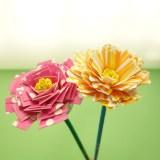 【手作りプレゼントに】紙皿が大変身★リアルなお花の作り方
