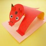首をふりふり♪折り紙で作る「簡単!赤べこ」
