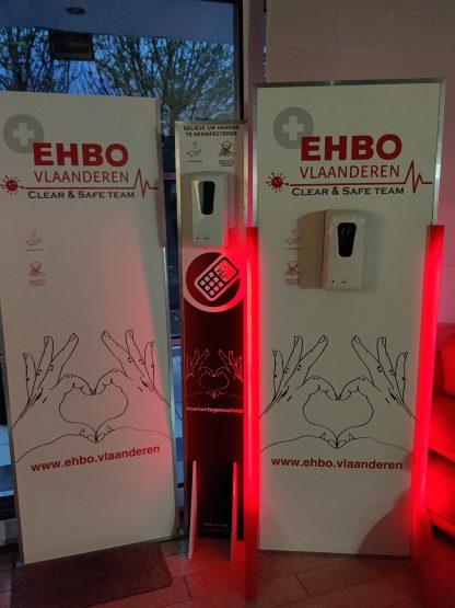 Desinfectiezuil EHBO Vlaanderen