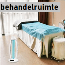 UVC LAMP - behandelruimte