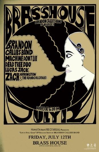 FRIDAY, JULY 12TH: Brass House (Austin, TX)