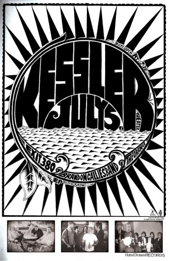 FRIDAY, JULY 5TH: THE KESSLER THEATER (Dallas, TX) - Brandon Callies Band, EP Release Show