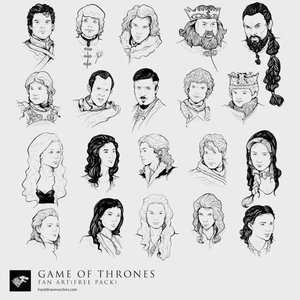 Game-of-Thrones-Collection-Vector