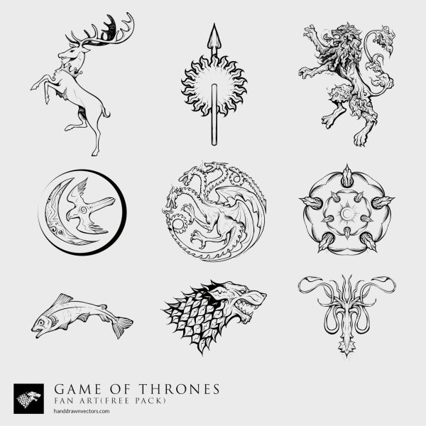 Game-of-Thrones-Sigil-Collection-Vector