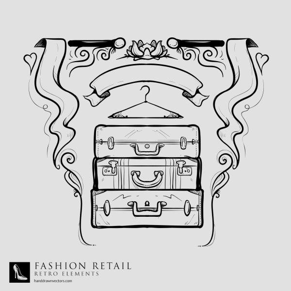 Suitcase-Curtains-Retail-Vector