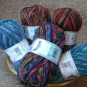 500g-Sockenwolle-Überraschungspaket