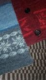 Stickade koftor och tröjor