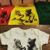 T-shirt olika storlekar