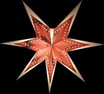 Adventsstjärna handgjord i papper