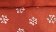 Julgardiner med broderad stjärna