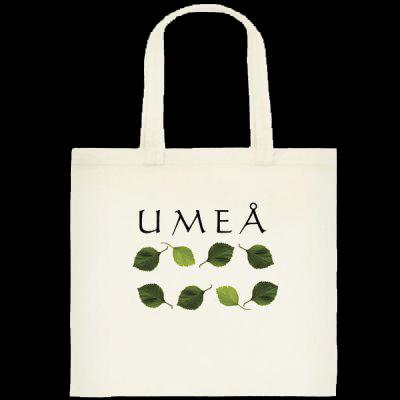 Kassar med olika Umeå-motiv