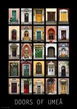Affisch A3 Doors of Umeå