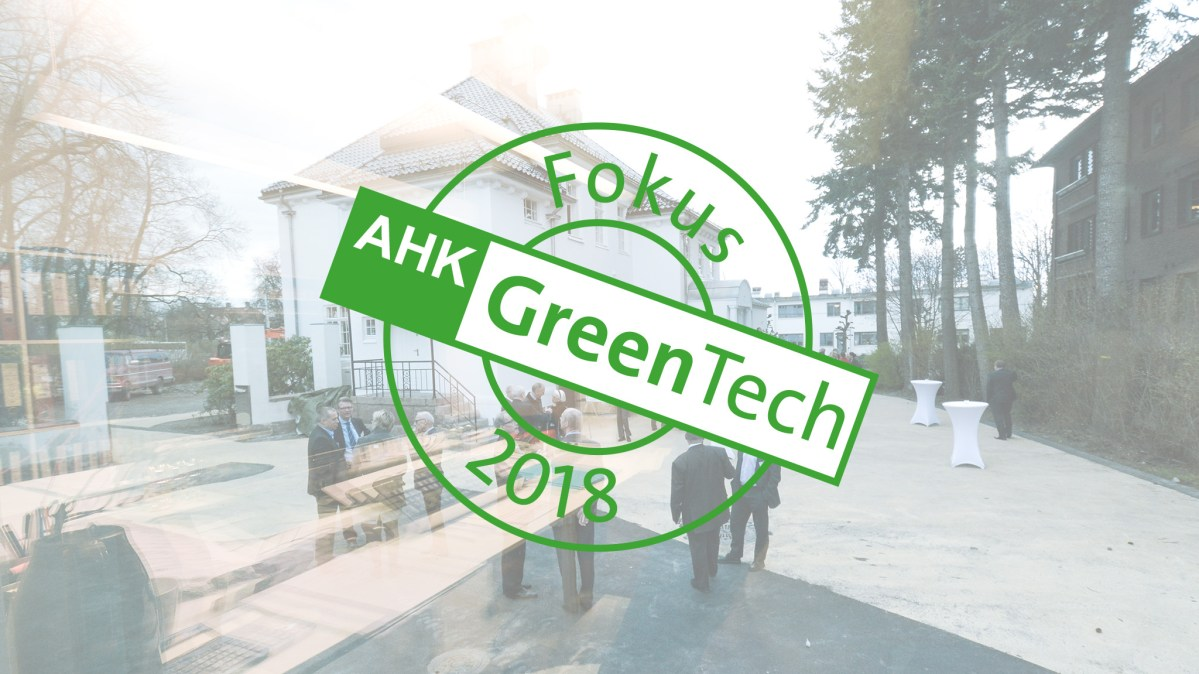 Fokus 2018: GreenTech