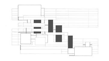 repeating similar rectangles + diagonal positioning
