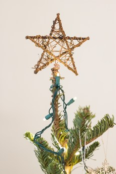 I have a rule that every single decoration on my tree has to be different. It really helps me avoid the temptation to buy those huge sets of ornaments