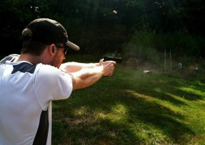 Colt Shooting Vickers Sights