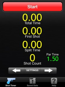 If you didn't get the Surefire app when it was available, Free Shot Timer is a good substitute.