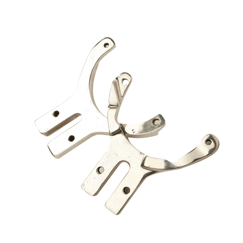 Polished Chevy One Wire Alternator Brackets - H&H Flatheads