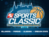 Betting on the 2K Classic Championship