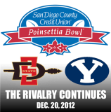 Betting on the 2012 Poinsettia Bowl