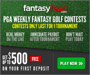 Daily Fantasy Golf at Fantasy Feud