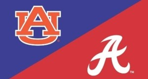 Auburn and Alabama Iron Bowl