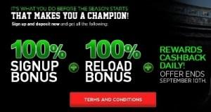 BetOWI NFL Preseason Bonus