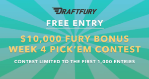 Draft-Fury-10K-Freeroll-NFL-Week-4