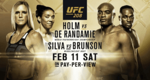 UFC 208 Fighting