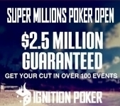 Ignition Poker Super Millions