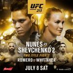 UFC 213 MMA