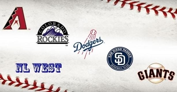 National League West Baseball