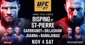 UFC 217 at MSG
