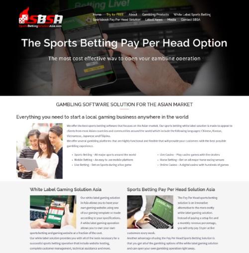SportsBettingSolutionAsia.com Sportsbook Pay Per Head Review 1