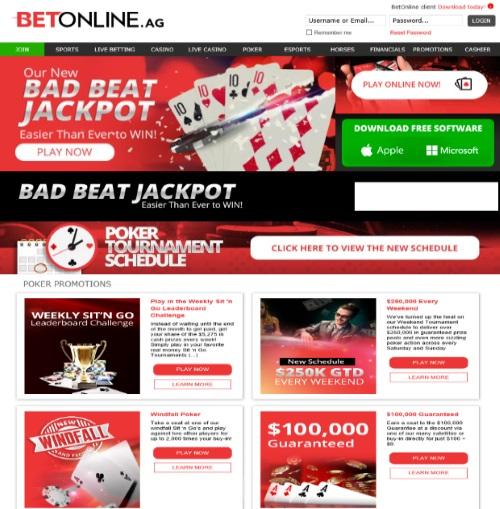 BetOnline.ag Poker Room Review 1