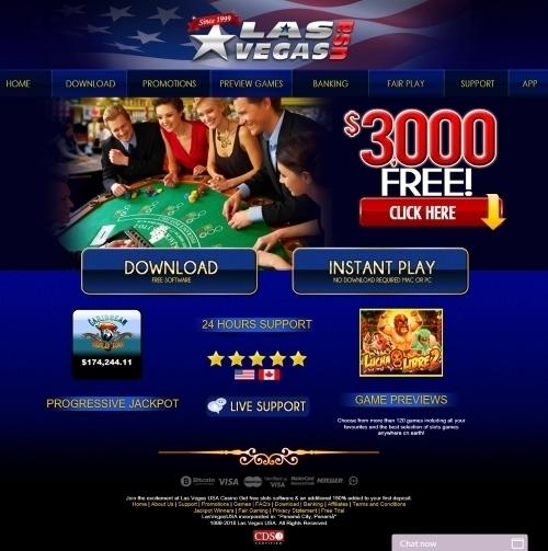 LasVegasUSA.eu Casino Review 1