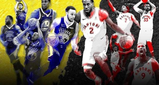 2019 The Finals Raptors vs Warriors