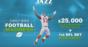 Early Bird Football Madness JazzSports