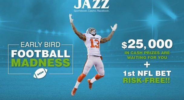 Early Bird Football Madness JazzSports