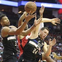 Bookie NBA News - Bucks Win Over Star-Studded Rockets