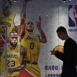 LeBron Questions Silver over China Issue