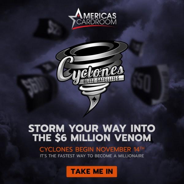 ACR $6M Cyclone Blitz
