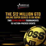 Americas Cardroom $12 Million Online Super Series