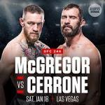 Conor McGregor vs Cowboy Cerrone at UFC 246
